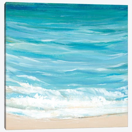 Sea Breeze Coast I Canvas Print #TOT348} by Tim OToole Canvas Wall Art