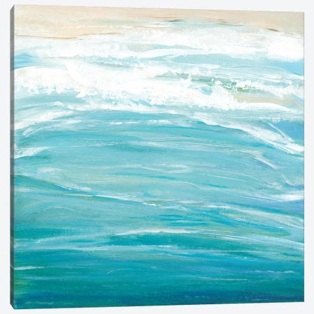 Sea Breeze Coast II Canvas Print #TOT349} by Tim OToole Canvas Artwork