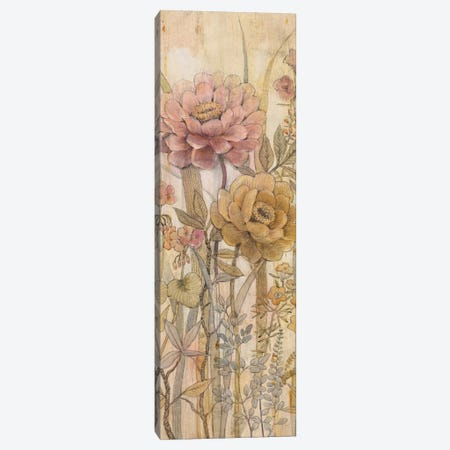 Floral Chinoiserie II Canvas Print #TOT34} by Tim OToole Art Print