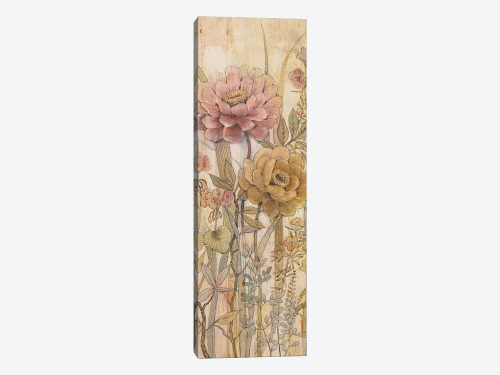 Floral Chinoiserie II by Tim OToole 1-piece Canvas Artwork