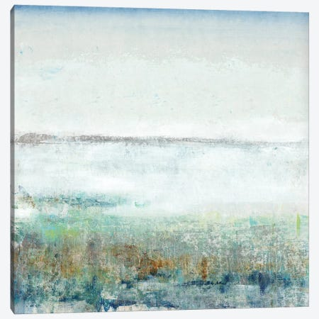Turquoise Mist I 3-Piece Canvas #TOT358} by Tim OToole Canvas Art Print