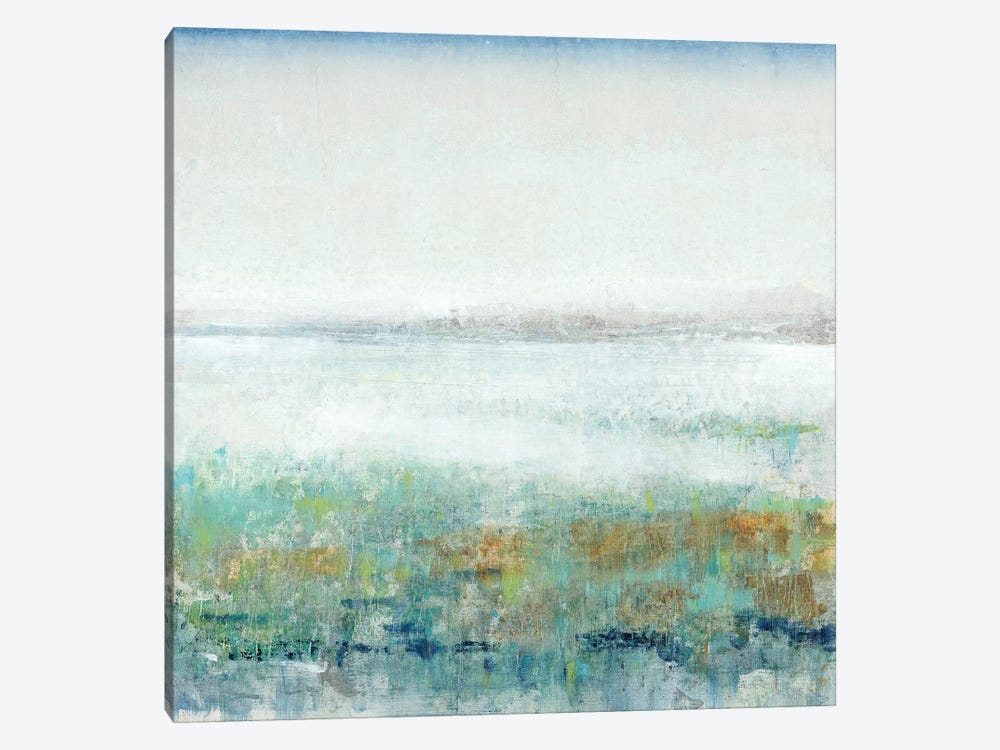 Turquoise Mist II 1-piece Canvas Art Print