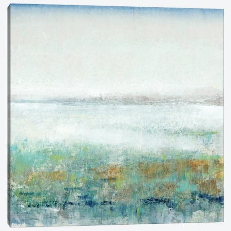 Turquoise Mist II 3-Piece Canvas #TOT359} by Tim OToole Canvas Art Print