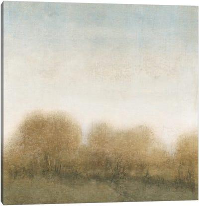 Golden Treeline II Canvas Art Print