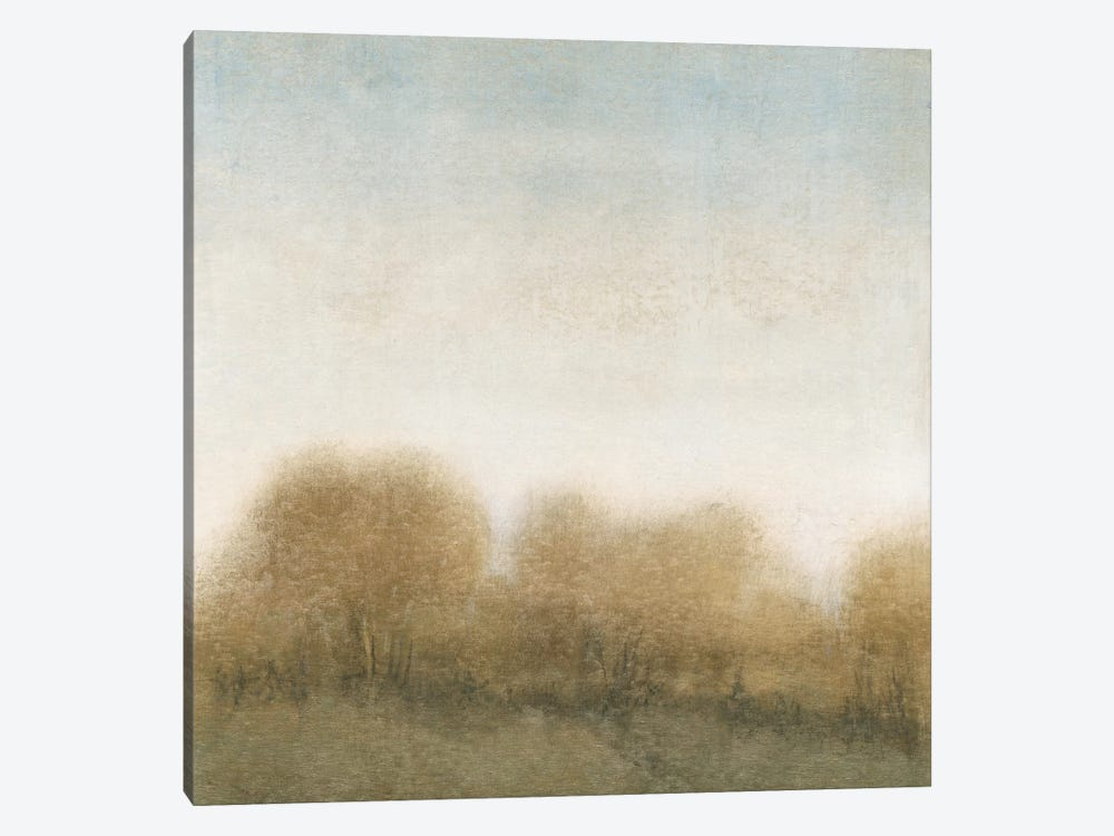 Golden Treeline II by Tim OToole 1-piece Canvas Art