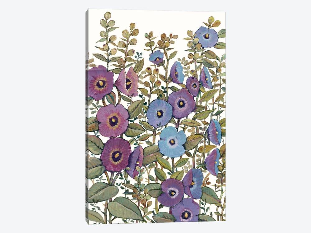 Hollyhocks in Bloom I by Tim OToole 1-piece Canvas Wall Art