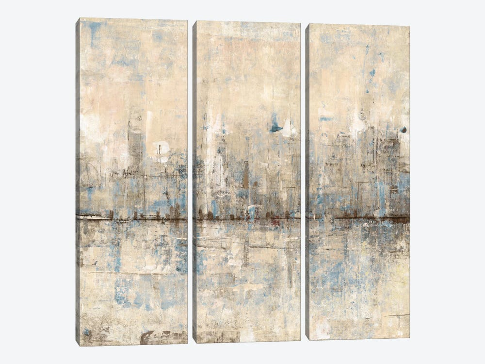 Impressionist Skyline I by Tim O'Toole 3-piece Art Print