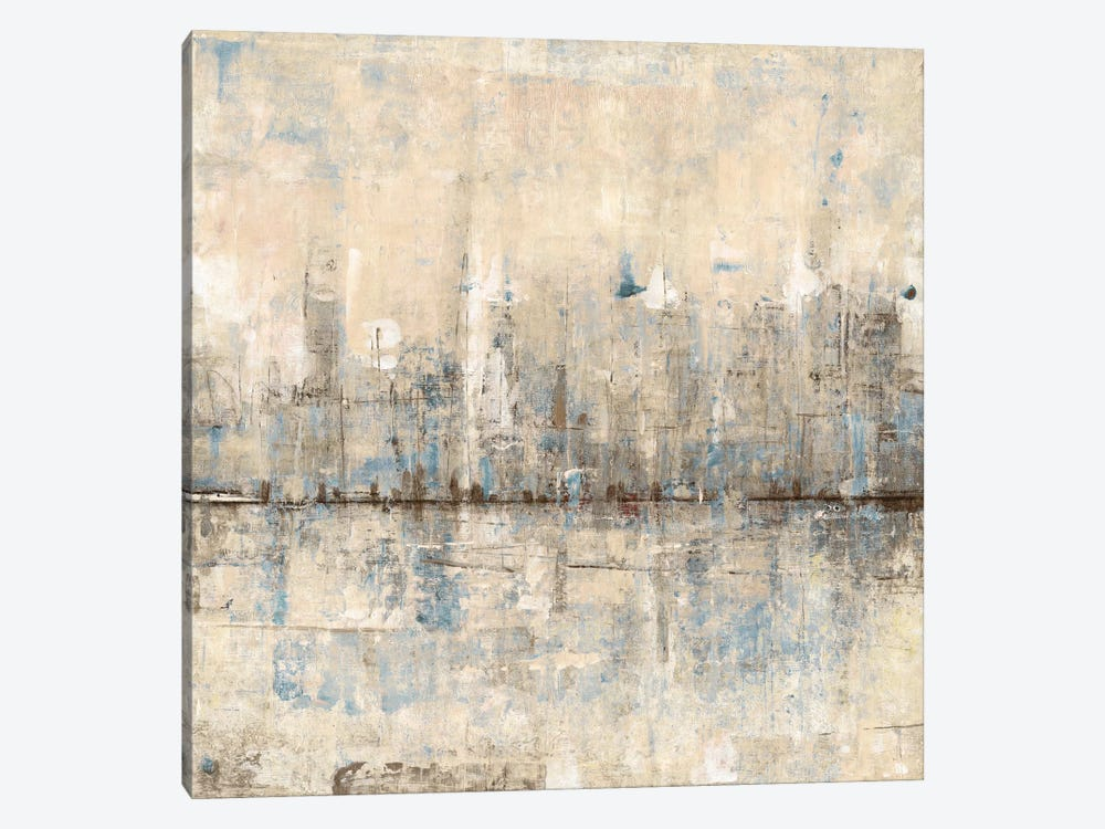 Impressionist Skyline I by Tim OToole 1-piece Canvas Print