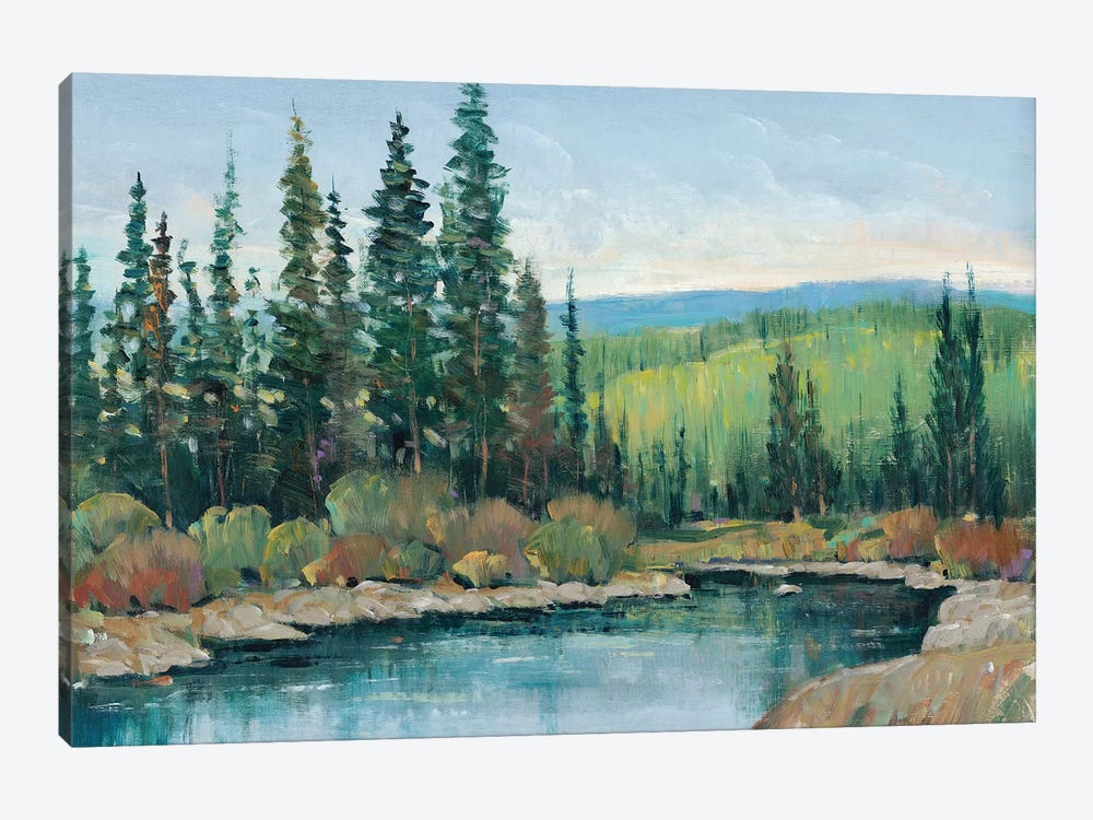 Mountain Escape I by Tim OToole 1-piece Canvas Art Print