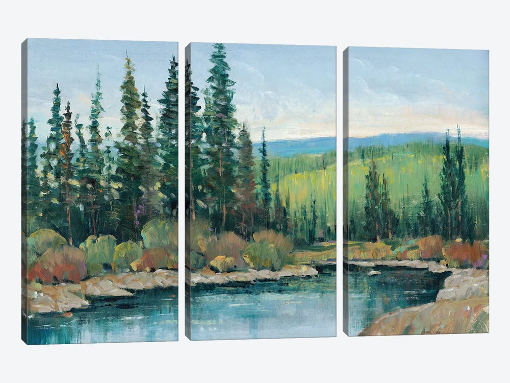 Mountain Escape I by Tim OToole 3-piece Canvas Art Print