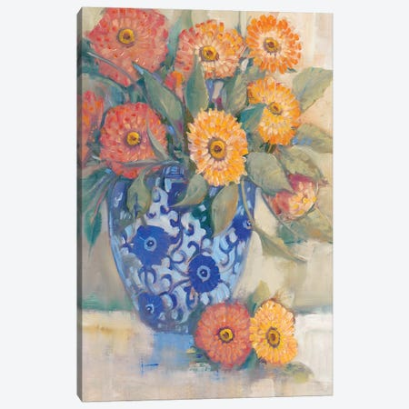 Oriental Bouquet I Canvas Print #TOT386} by Tim O'Toole Art Print