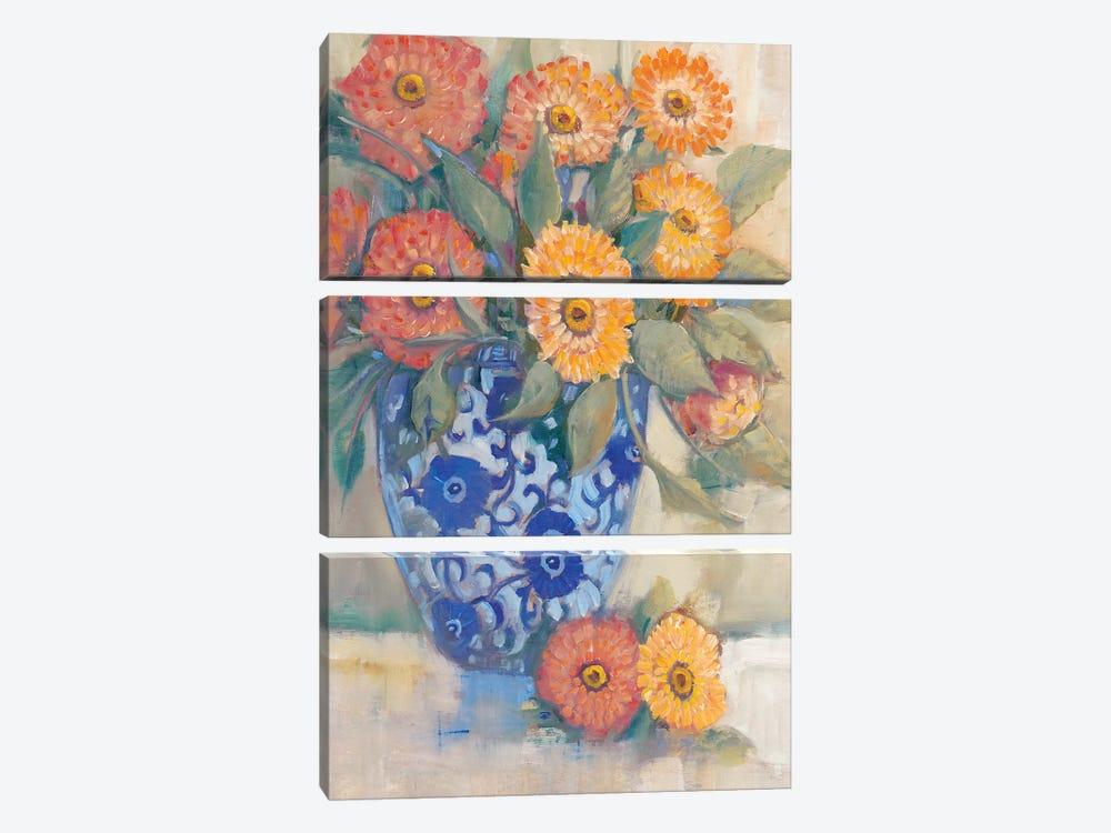 Oriental Bouquet I by Tim OToole 3-piece Canvas Print