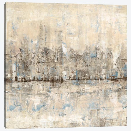 Impressionist Skyline II Canvas Print #TOT38} by Tim OToole Canvas Art