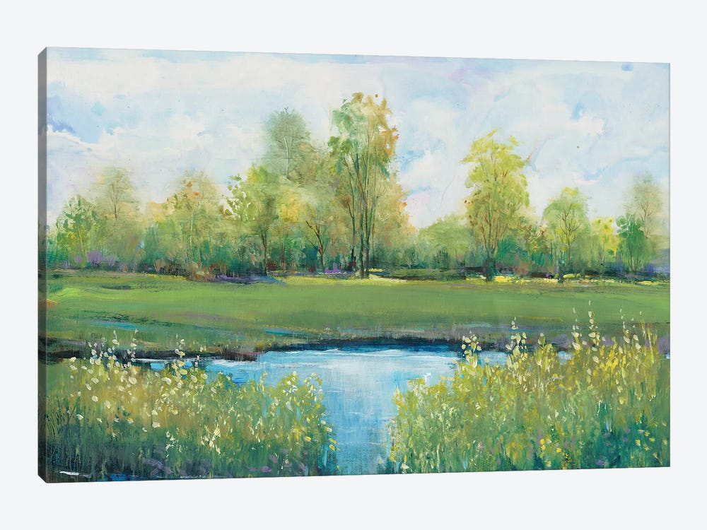 Tranquil Park II by Tim OToole 1-piece Canvas Art Print