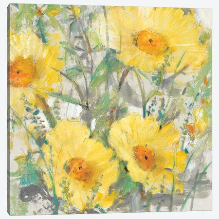 Yellow Bunch I Canvas Print #TOT410} by Tim OToole Canvas Wall Art