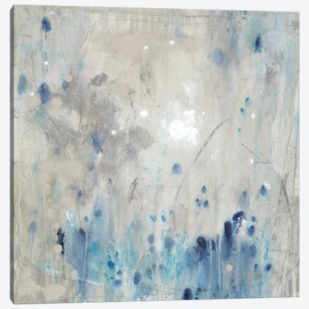 Blue Wandering II Canvas Print #TOT417} by Tim OToole Canvas Print
