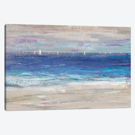 Distant Regatta I Canvas Print #TOT418} by Tim OToole Canvas Wall Art