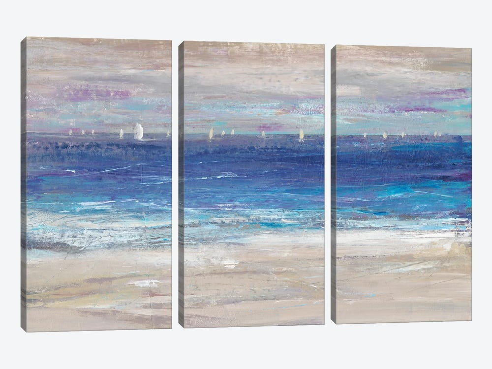 Distant Regatta I by Tim OToole 3-piece Canvas Print