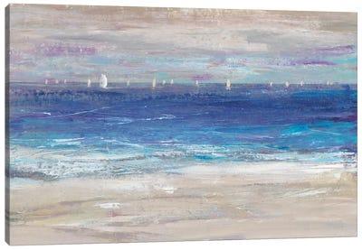 Distant Regatta I Canvas Art Print