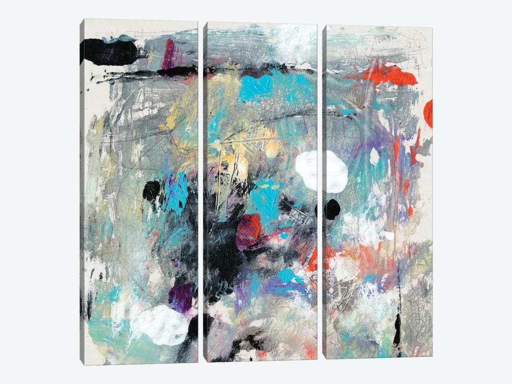 Jostle IV by Tim OToole 3-piece Canvas Print
