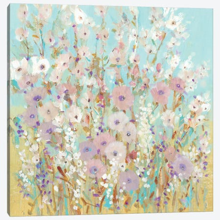 Mixed Flowers I Canvas Print #TOT430} by Tim OToole Canvas Artwork