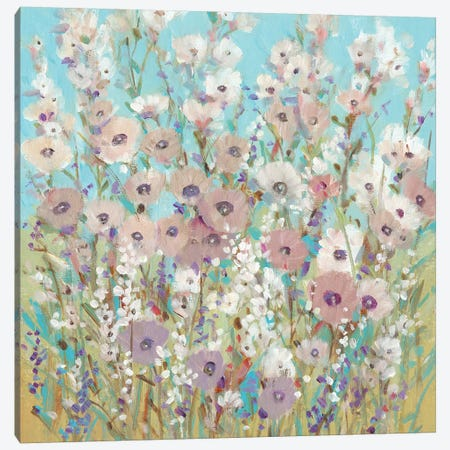 Mixed Flowers II 3-Piece Canvas #TOT431} by Tim OToole Canvas Wall Art