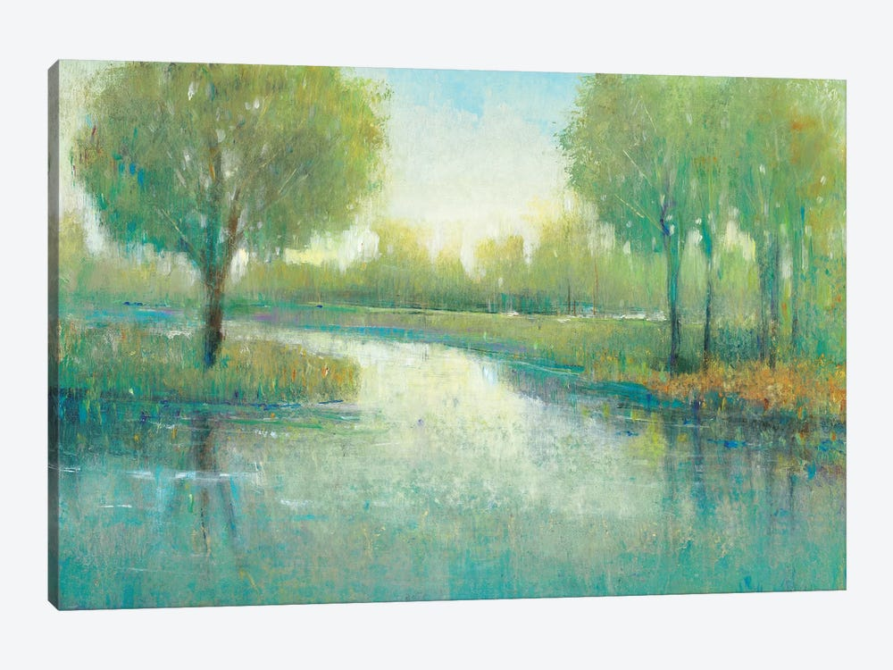 Winding River II by Tim OToole 1-piece Canvas Art Print