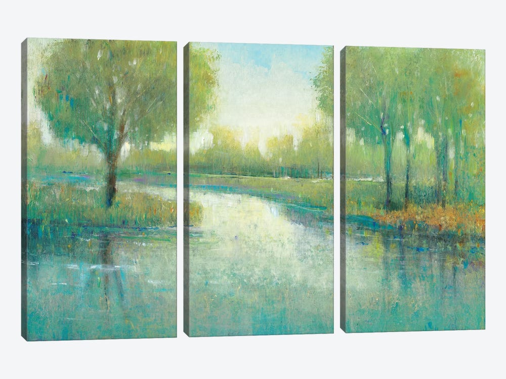 Winding River II by Tim OToole 3-piece Art Print