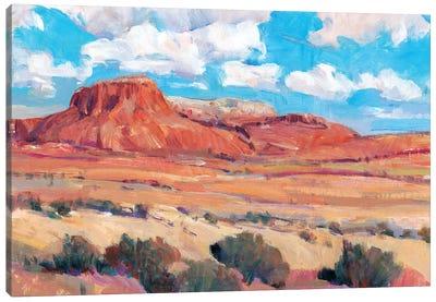 Desert Heat II Canvas Art Print