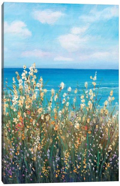 Flowers at the Coast II Canvas Art Print