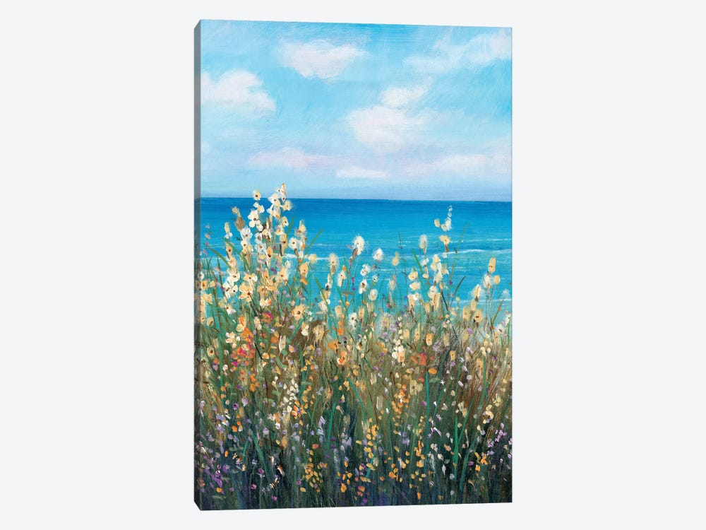 Flowers at the Coast II by Tim OToole 1-piece Canvas Art Print