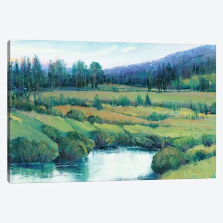 Mountain Retreat I 3-Piece Canvas #TOT498} by Tim OToole Canvas Art