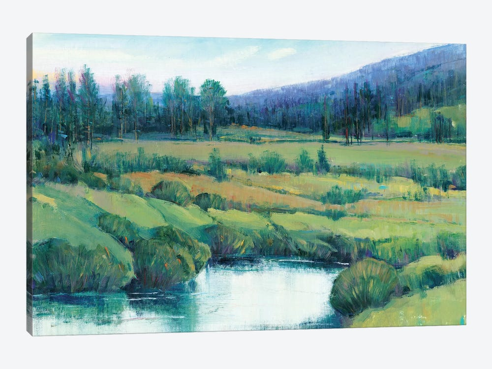 Mountain Retreat I by Tim OToole 1-piece Canvas Print