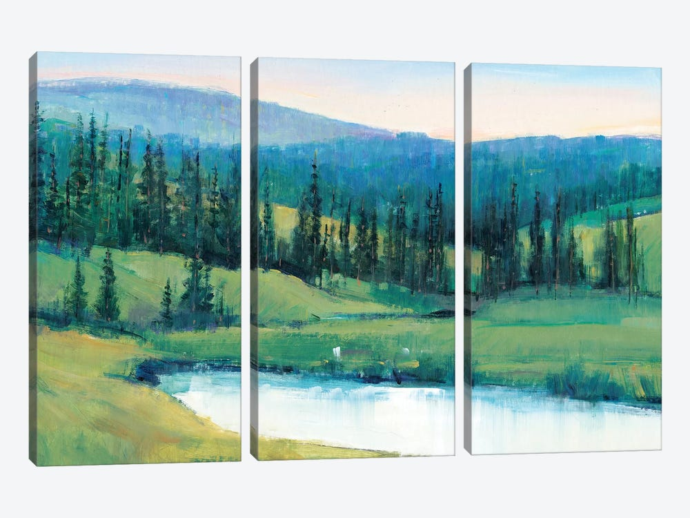 Mountain Retreat II by Tim OToole 3-piece Canvas Art