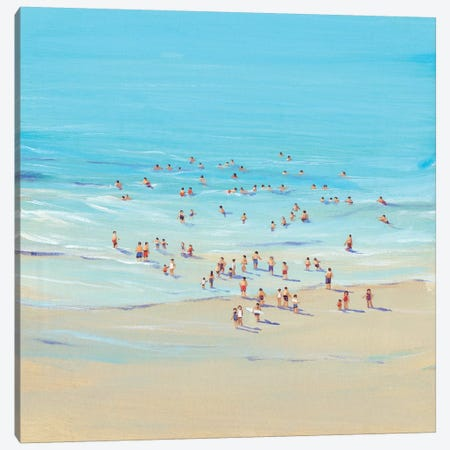 Beach Day I Canvas Print #TOT4} by Tim OToole Canvas Art