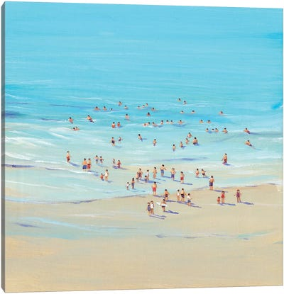 Beach Day I Canvas Art Print