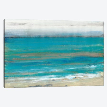 Seashore II 3-Piece Canvas #TOT505} by Tim OToole Canvas Print