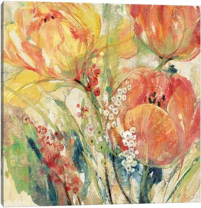 Spring Tulip Array I Canvas Art Print