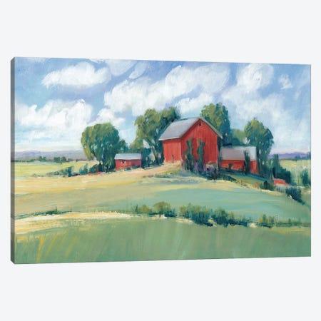 Rural Farmland I Canvas Print #TOT522} by Tim OToole Canvas Art