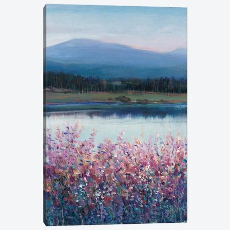 Lakeside Mountain I Canvas Print #TOT524} by Tim OToole Art Print