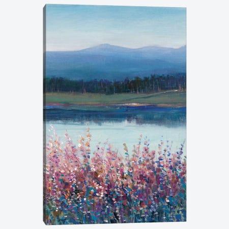 Lakeside Mountain II Canvas Print #TOT525} by Tim OToole Canvas Art Print