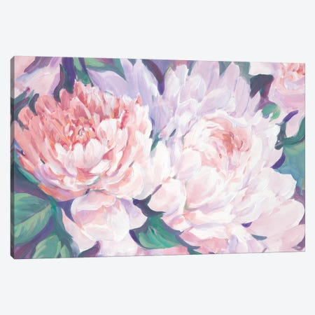 Peonies in Bloom I Canvas Print #TOT532} by Tim OToole Canvas Print