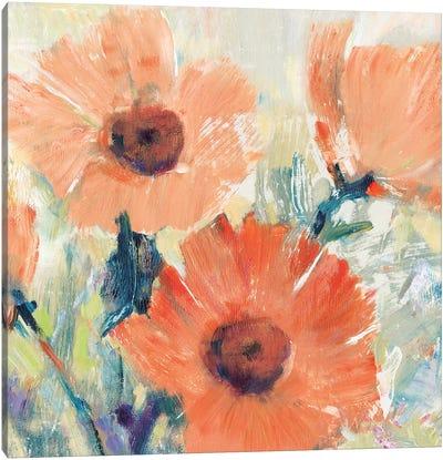 Flowers in Bloom I Canvas Art Print