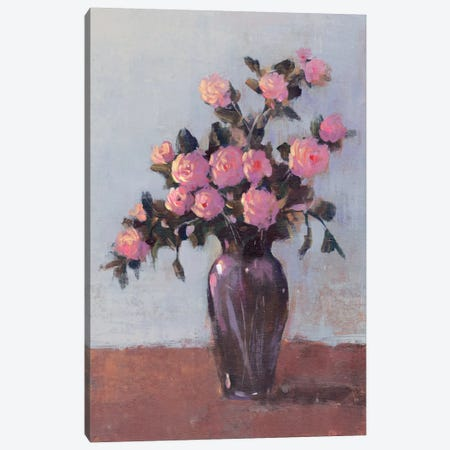 Soft Lit Roses I Canvas Print #TOT56} by Tim OToole Art Print