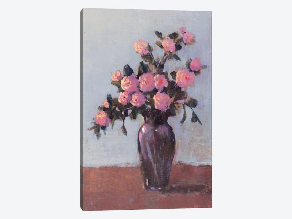 Soft Lit Roses I by Tim OToole 1-piece Canvas Art