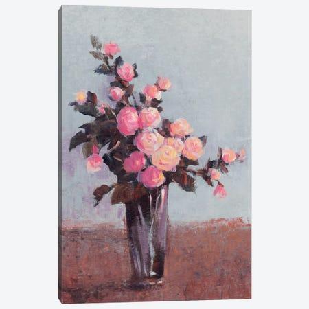 Soft Lit Roses II Canvas Print #TOT57} by Tim OToole Canvas Print