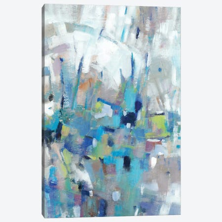 Edgy Blues I Canvas Print #TOT583} by Tim OToole Canvas Artwork