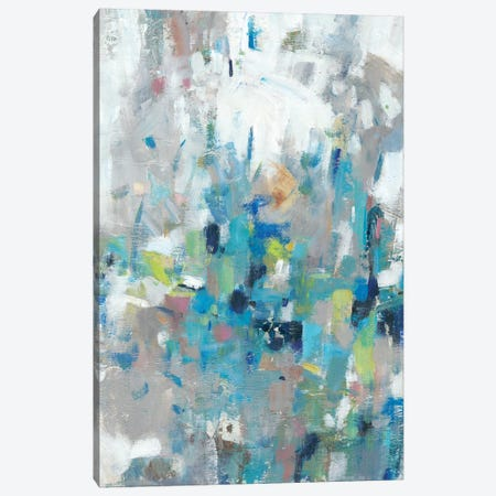 Edgy Blues II Canvas Print #TOT584} by Tim OToole Canvas Art Print