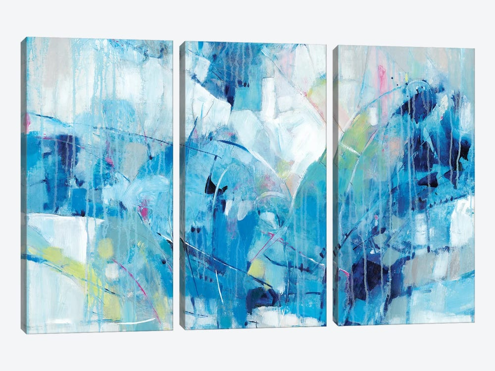 Ice Breaker I by Tim OToole 3-piece Canvas Wall Art