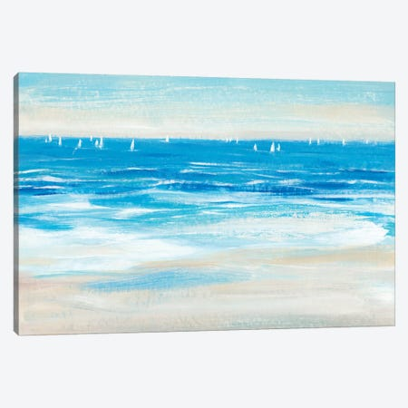 Low Cerulean Tide II Canvas Print #TOT592} by Tim OToole Art Print